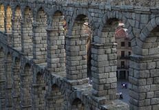 Roman aqueduct Royalty Free Stock Image