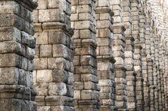 Roman Aqueduct av Segovia, Spanien Royaltyfri Foto