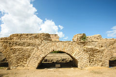 Roman aqueduct Carthage Stock Photography