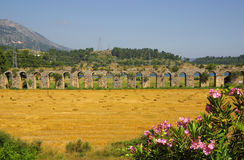 Roman aqueduct near Manavgat, Turkey Stock Photography