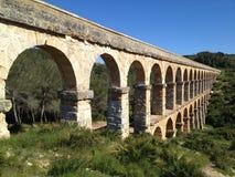Roman Aqueduct Perspective View Imágenes de archivo libres de regalías
