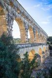 Pont du Gard, France. Roman aqueduct, Pont du Gard, France Stock Image
