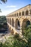 Pont du Gard, France. Roman aqueduct, Pont du Gard, France Royalty Free Stock Photography