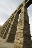 Aqueduct of Segovia. Roman Aqueduct of Segovia, Spain Royalty Free Stock Photos
