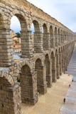 Roman aqueduct in Segovia Stock Photos