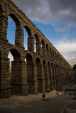 Roman aqueduct in Segovia Royalty Free Stock Images