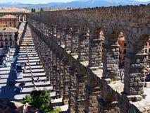 Roman Aqueduct, Segovia Royalty Free Stock Images