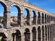 Roman Aqueduct, Segovia Royalty Free Stock Images