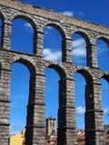 Roman Aqueduct, Segovia Stock Images