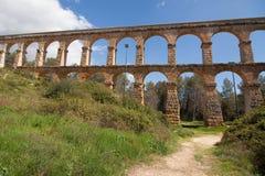 Roman Aqueduct of Tarragona Royalty Free Stock Photo