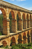 Roman Aqueduct in Tarragona, Spain Royalty Free Stock Photos