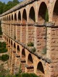Roman aqueduct, Tarragona ( Spain ) Royalty Free Stock Photo