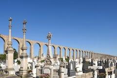 Roman Aqueduct, Vila do Conde, Douro Region, Northern Portugal Stock Images