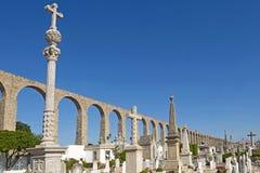 Roman Aqueduct, Vila do Conde, Douro Region, Northern Portugal Stock Image