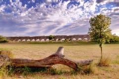 Roman Aqueducts a Roma Fotografie Stock