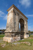 Roman Arch of Bera Stock Photography