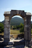 Roman arch at Carsulae Royalty Free Stock Images
