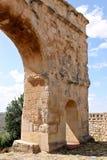 Roman arch gate, Medinaceli, Spain Stock Photos