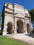 Roman Arch of Orange Royalty Free Stock Photo