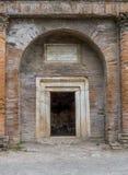Roman arch in Pompeii, Italy Royalty Free Stock Photos