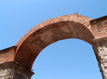 Galerius arch. In Thessaloniki, Greece stock image