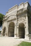 Roman arch of triumph Stock Photo