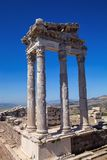 Roman archaeological monuments, Bergama, Turkey Stock Photography