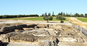 Roman archaeological remains Royalty Free Stock Photos
