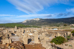 Roman archaeological site area  Baelo Claudia. Bolonia Andalusia Spain Stock Photography