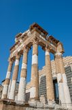 Roman archaeological site. In Brescia Royalty Free Stock Photo