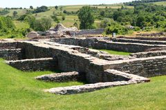 Roman archeological site, Gamzigrad Stock Photography