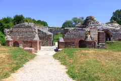 Roman archeological site, Gamzigrad Royalty Free Stock Images