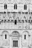 Roman architectural window walls Stock Images