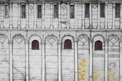 Roman architectural window walls Stock Photography