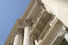 Roman Architecture. Room for copy royalty free stock photo