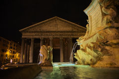 Roman Architecture and Art Stock Image
