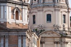 Roman architecture,historic buildings, Italy Stock Images