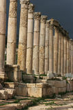 Roman architecture in Jerash Stock Photography