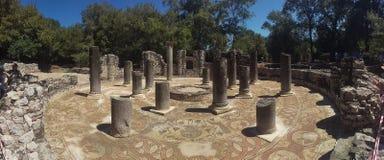 Roman Architecture Temple Royaltyfri Bild
