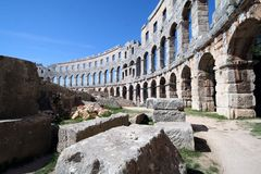 roman arena 11 royaltyfria foton