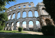 Roman Arena 12 Royalty Free Stock Photo