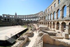 roman arena 8 arkivfoto