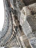 Roman arena 2. Ancient ruins of a roman arena in pula Royalty Free Stock Photos
