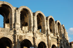 Roman Arena in Arles Royalty Free Stock Images