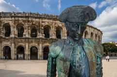 Roman Arena in Arles, France Royalty Free Stock Photos