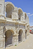 Roman Arena in Arles, Provence Stock Photo
