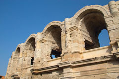 Roman Arena in Arles. (Provence, France) Stock Photo