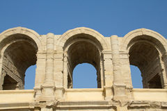 Roman Arena in Arles. (Provence, France) Royalty Free Stock Photography