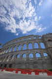 Roman Arena In Pula Stock Photos