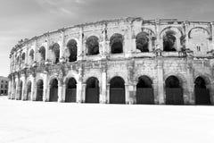 Roman Arena of Nimes Royalty Free Stock Photo